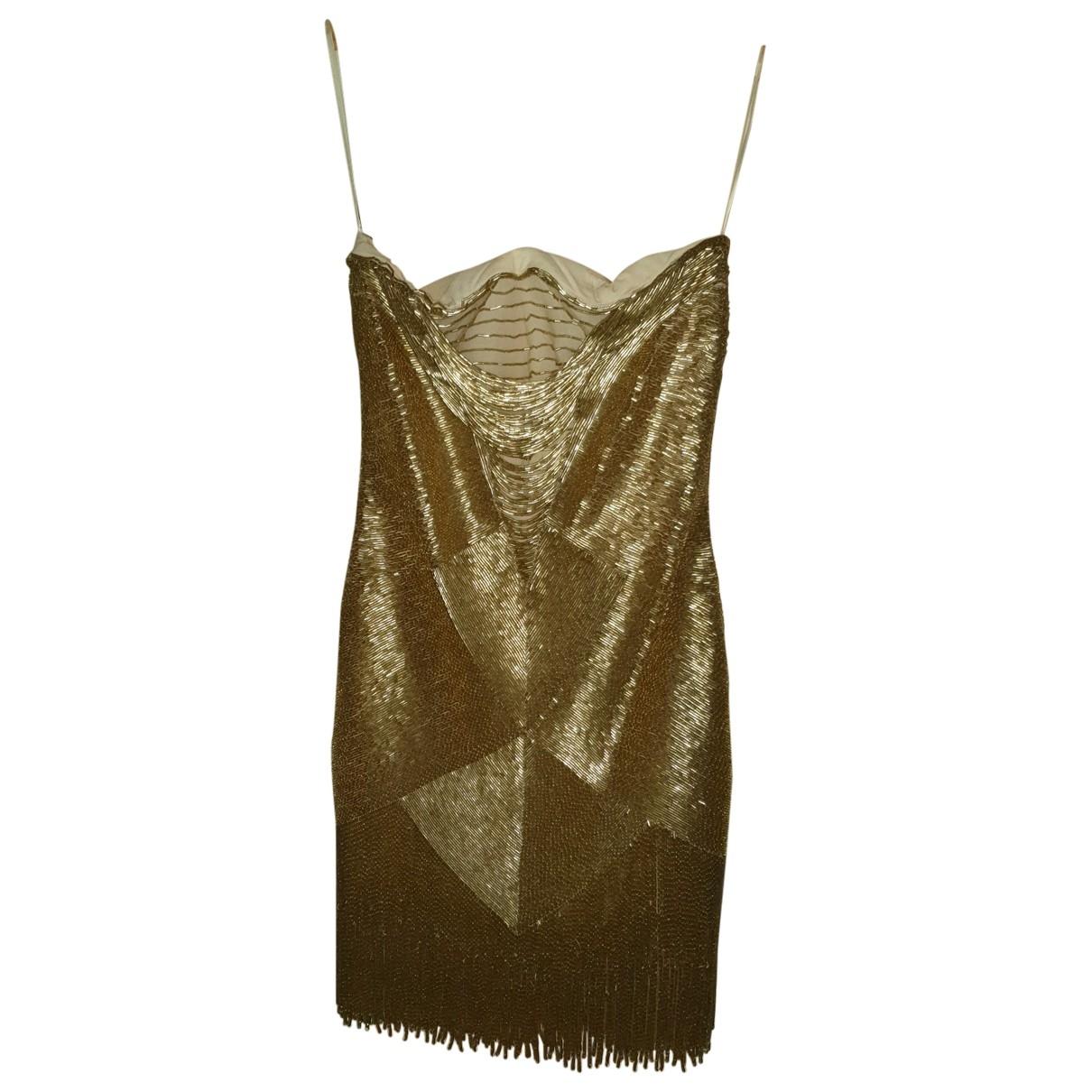 Mini vestido de Con lentejuelas Roberto Cavalli