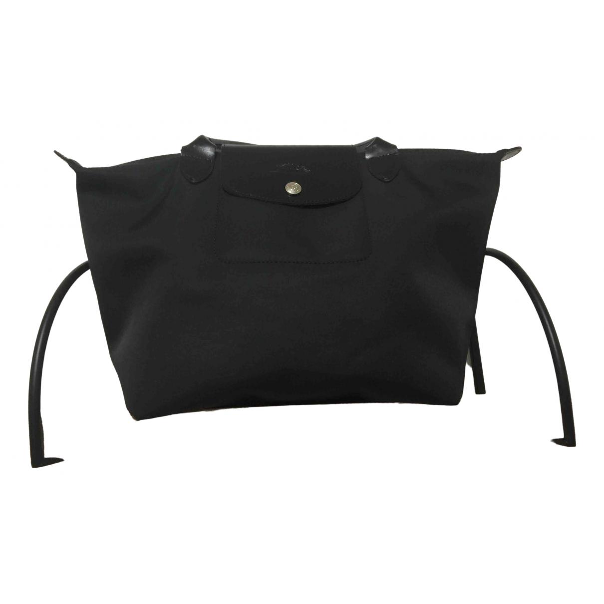 Longchamp \N Black handbag for Women \N
