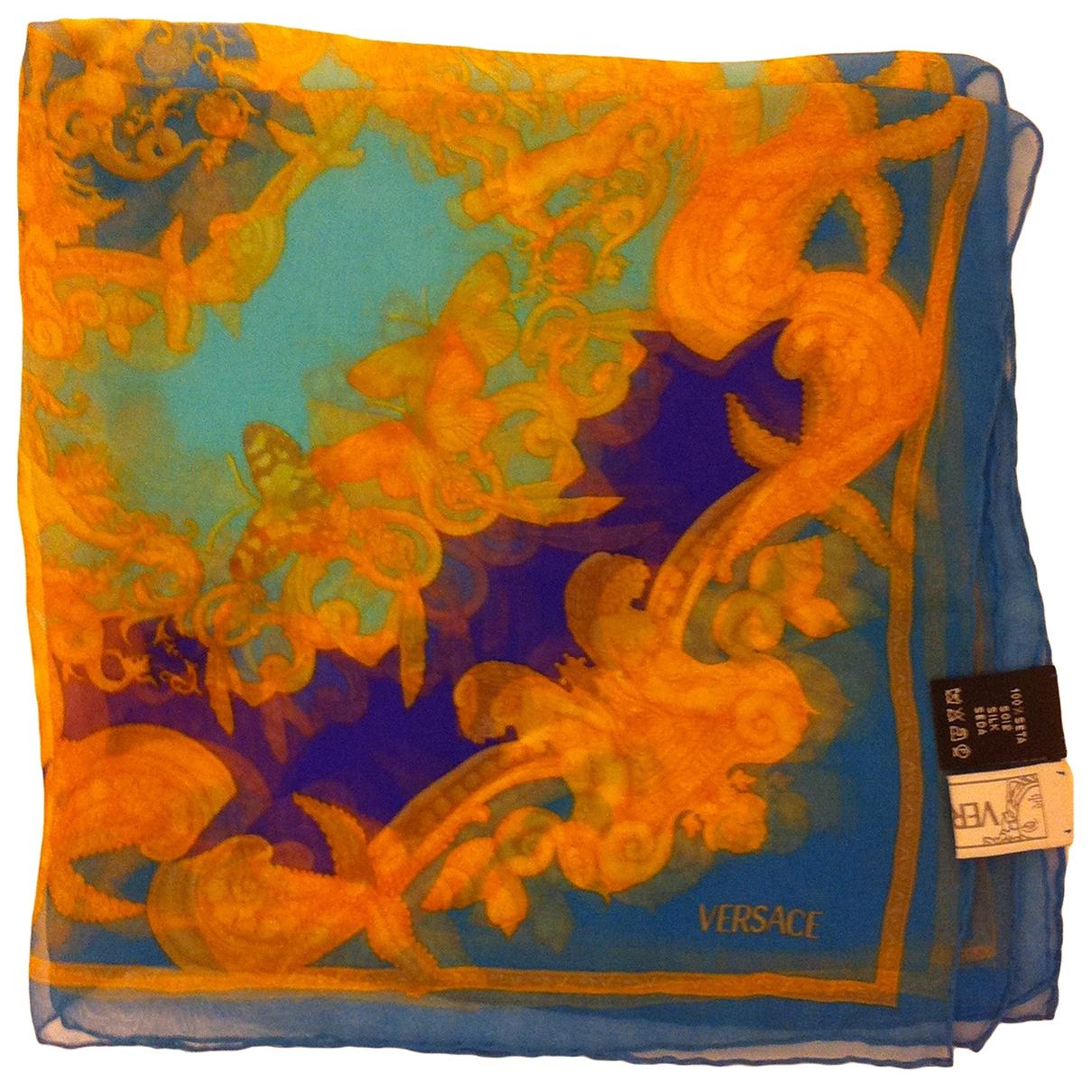 Versace - Carre   pour femme en soie - multicolore