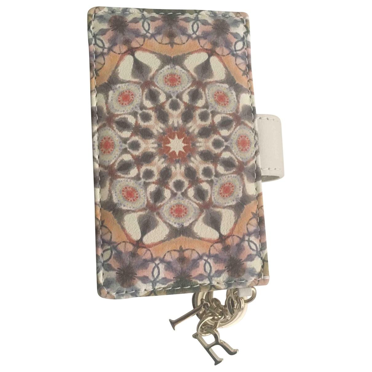 Dior - Petite maroquinerie   pour femme en cuir - multicolore