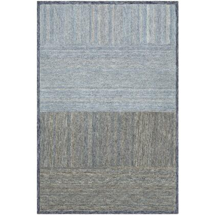 Equilibrium EBM-1006 8' x 10' Rectangle Modern Rug in