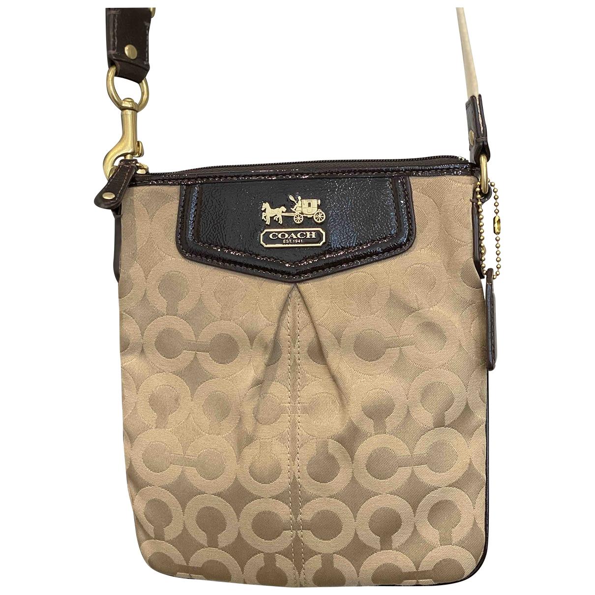 Coach \N Beige Cloth handbag for Women \N