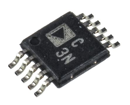 Analog Devices AD7686BRMZ, 16-bit Serial ADC Pseudo Differential Input, 10-Pin MSOP