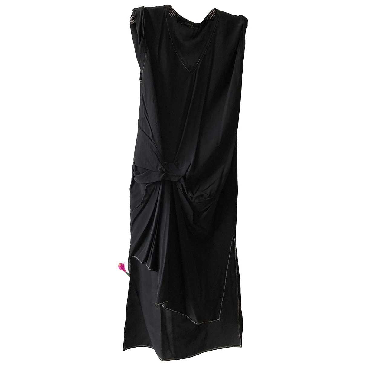 All Saints \N Black Silk dress for Women 10 UK