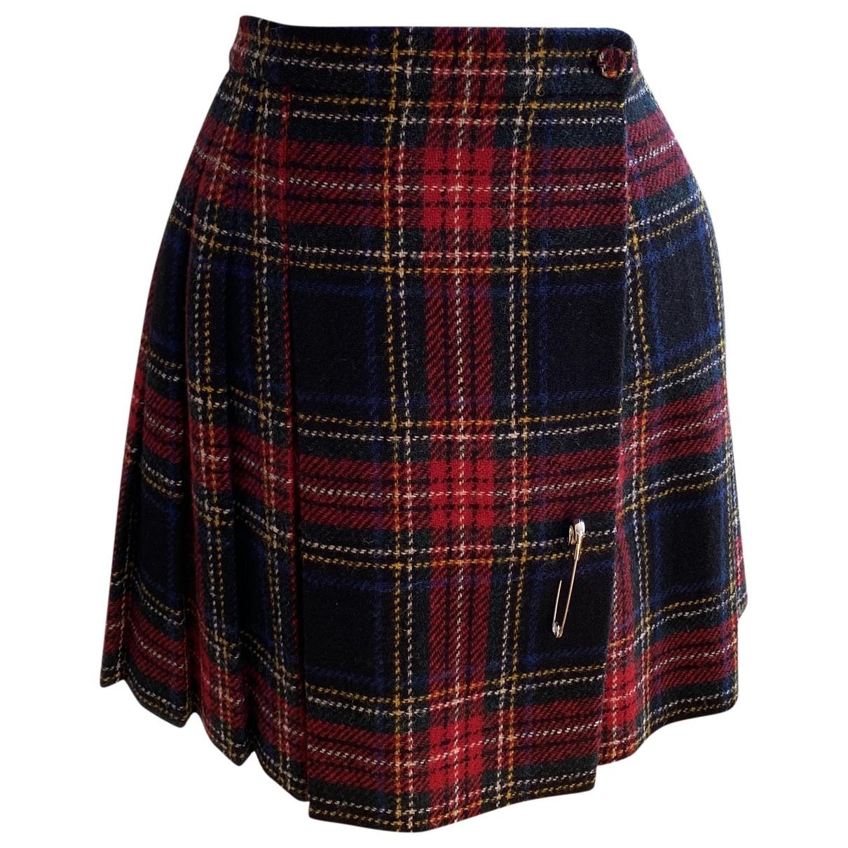 Saint Laurent N Multicolour Wool skirt for Women 34 FR