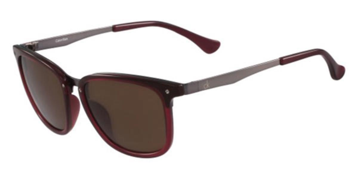 CK 1213S 607 Mens Sunglasses Burgundy Size 53