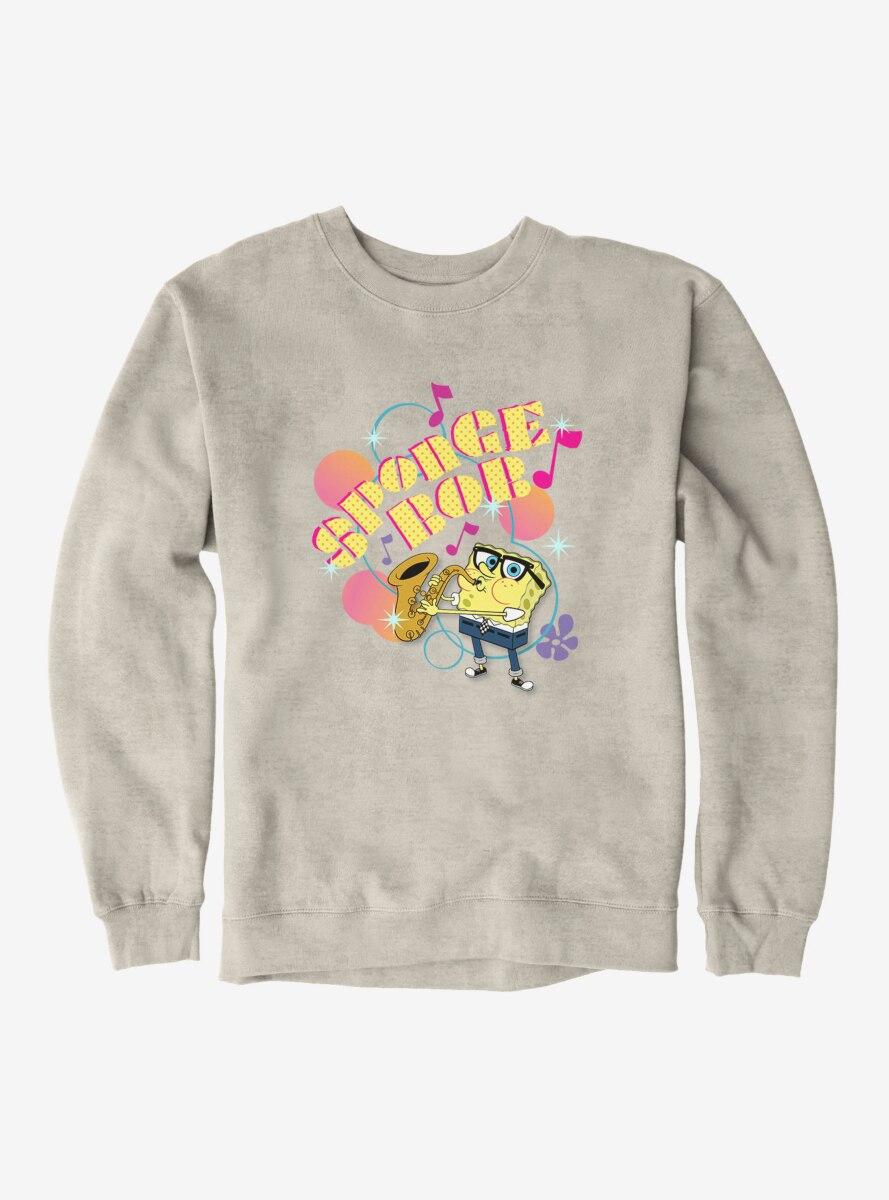 SpongeBob SquarePants Saxophone Playin' Sponge Sweatshirt