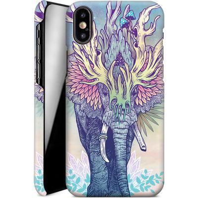 Apple iPhone X Smartphone Huelle - Spirit Elephant  von Mat Miller