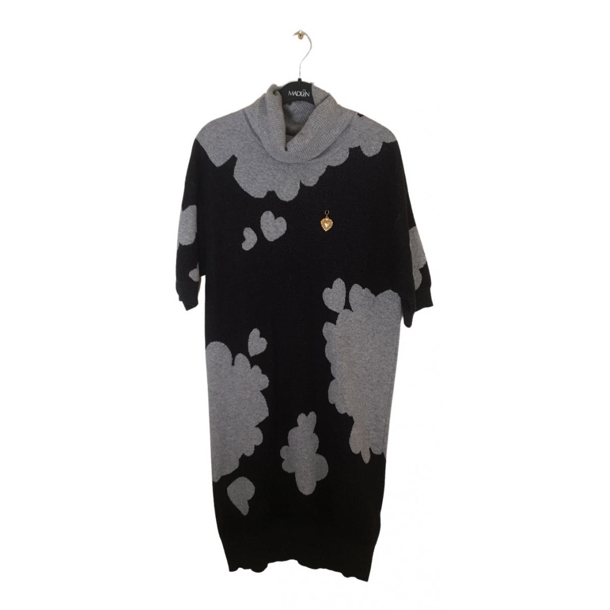 Moschino Love N Grey Wool dress for Women 8 US