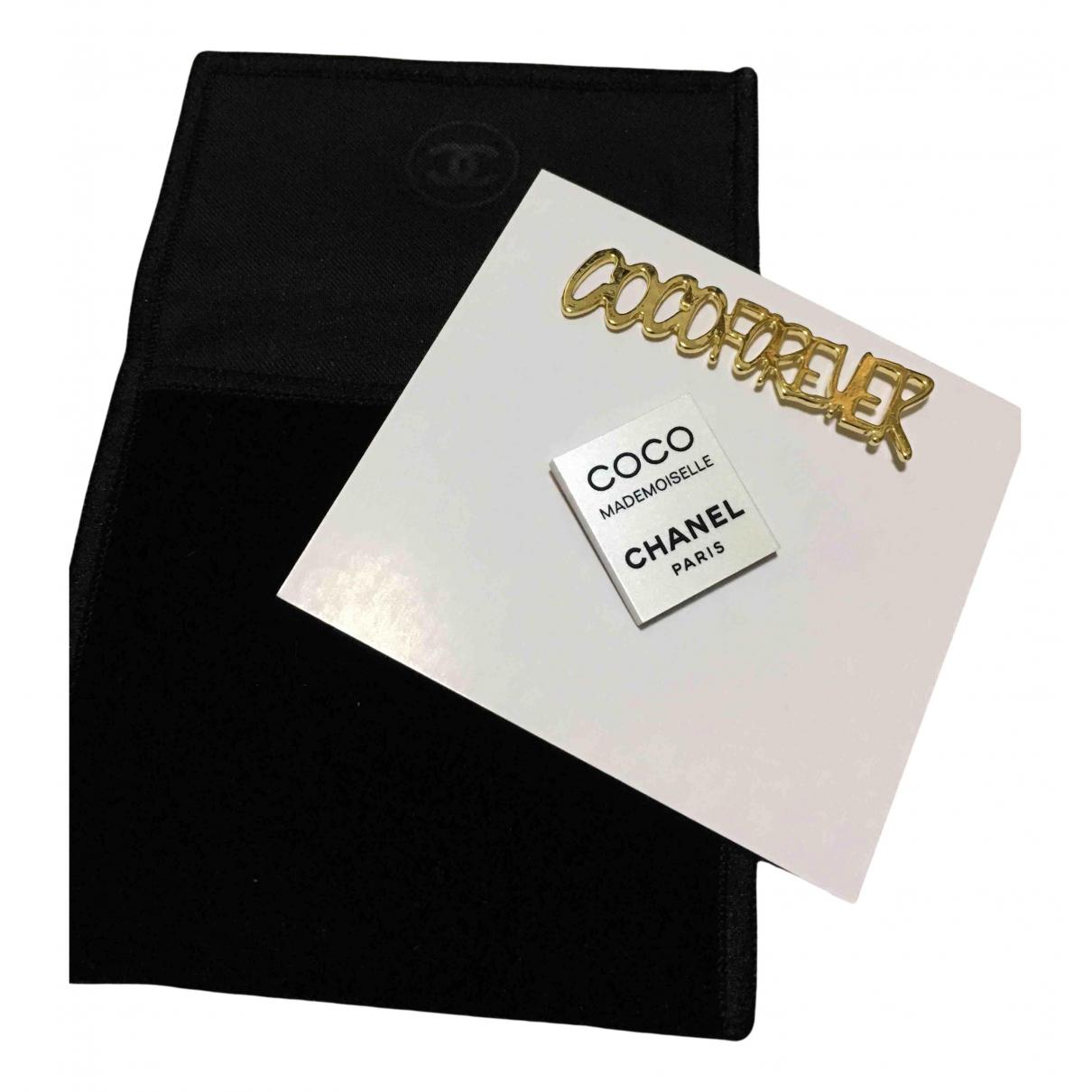 Broche en Metal Multicolor Chanel