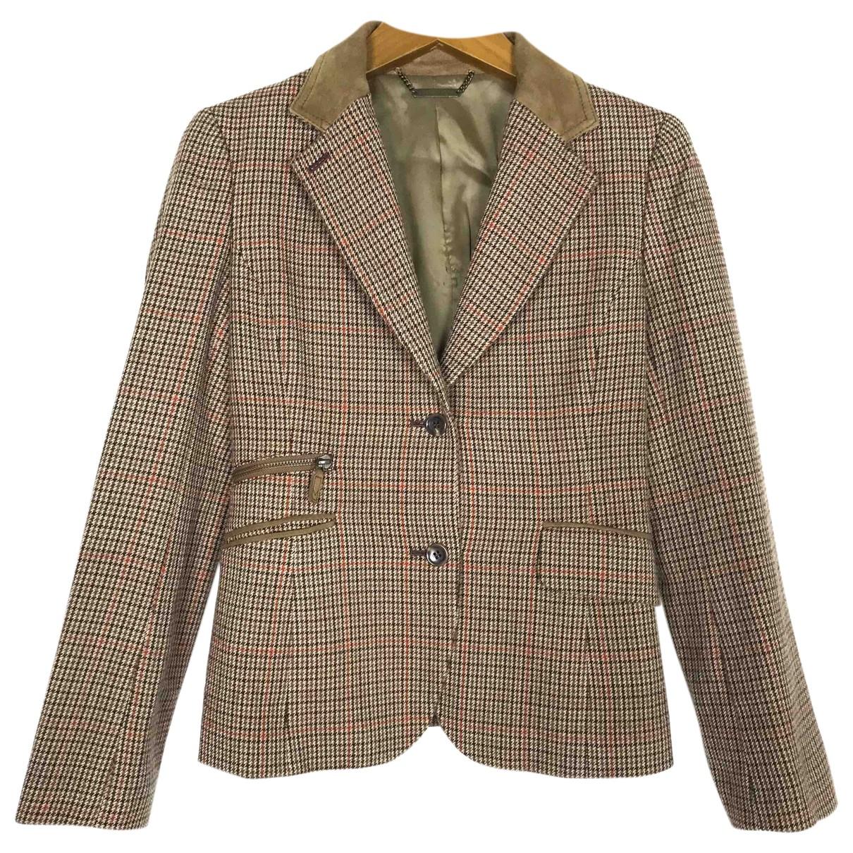 Michael Kors N Khaki Wool coat for Women M International