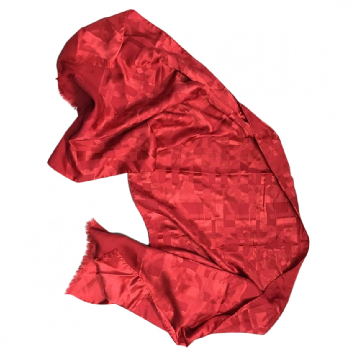 Salvatore Ferragamo \N Schal in  Rot Seide