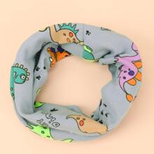 Toddler Kids Cartoon Graphic Scarf