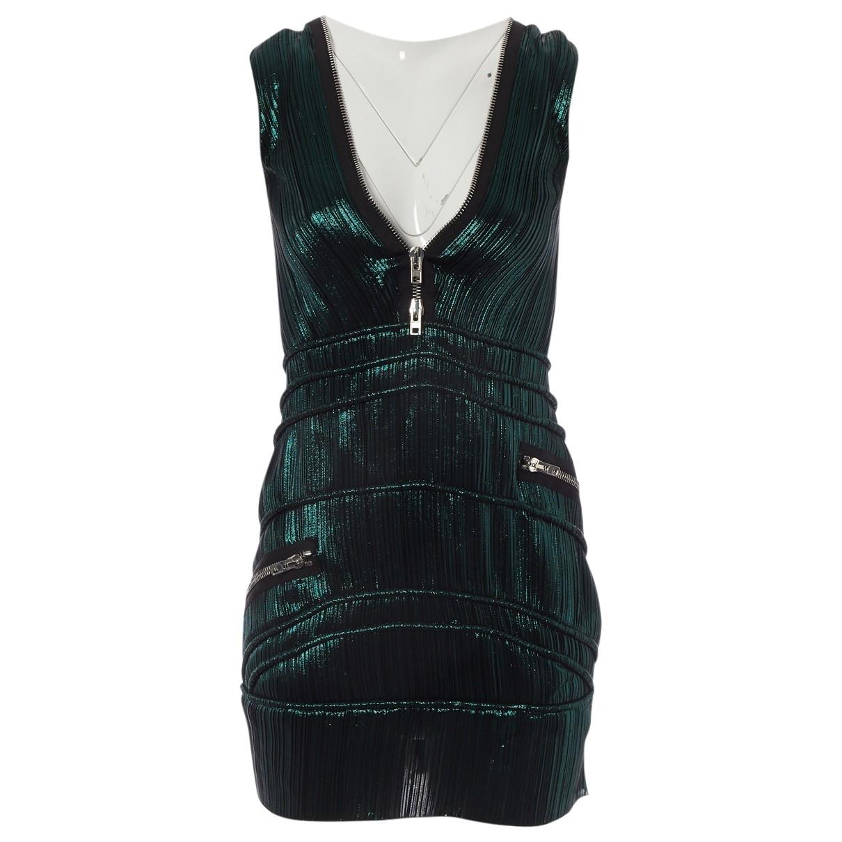 Givenchy - Robe   pour femme en soie - vert