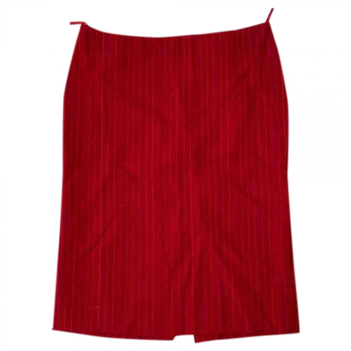 Versus \N Red Wool skirt for Women 38 IT