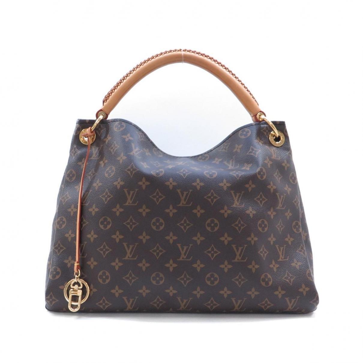 Louis Vuitton Artsy Brown Cloth handbag for Women \N