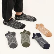 5 pares calcetines de hombres tobilleros