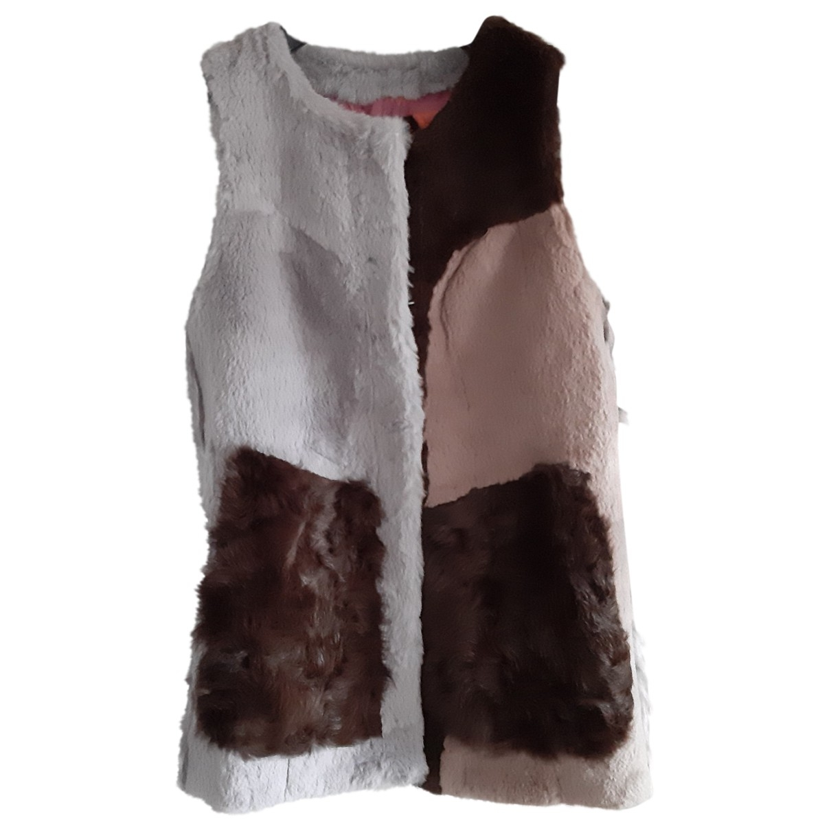 Non Signé / Unsigned \N Multicolour Rabbit Knitwear for Women S International