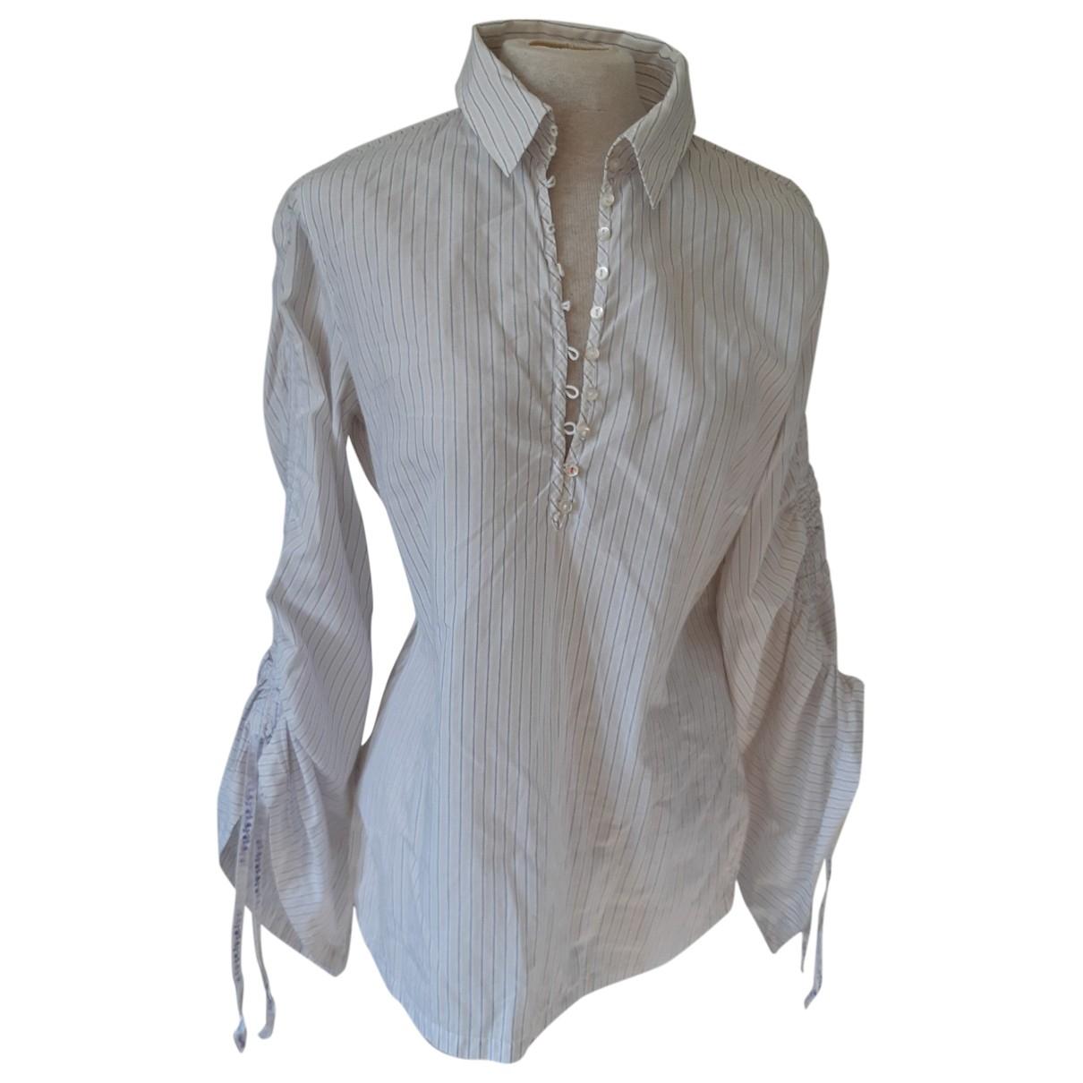 Boss \N White Cotton  top for Women 40 FR
