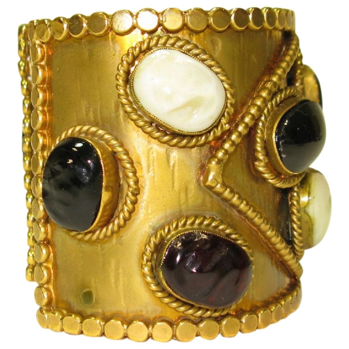 Marguerite De Valois - Bracelet   pour femme en metal - dore