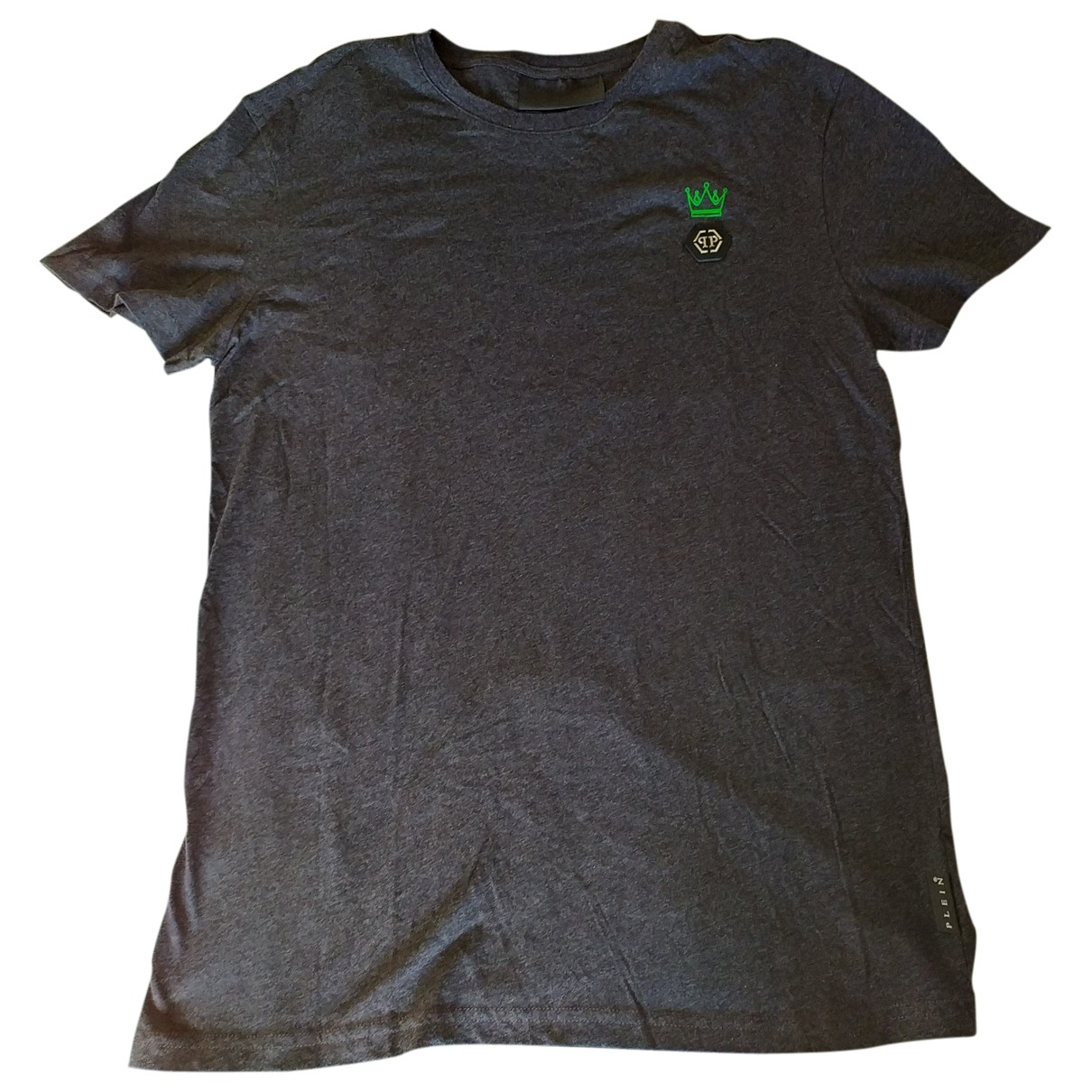 Philipp Plein \N Grey Cotton T-shirts for Men L International