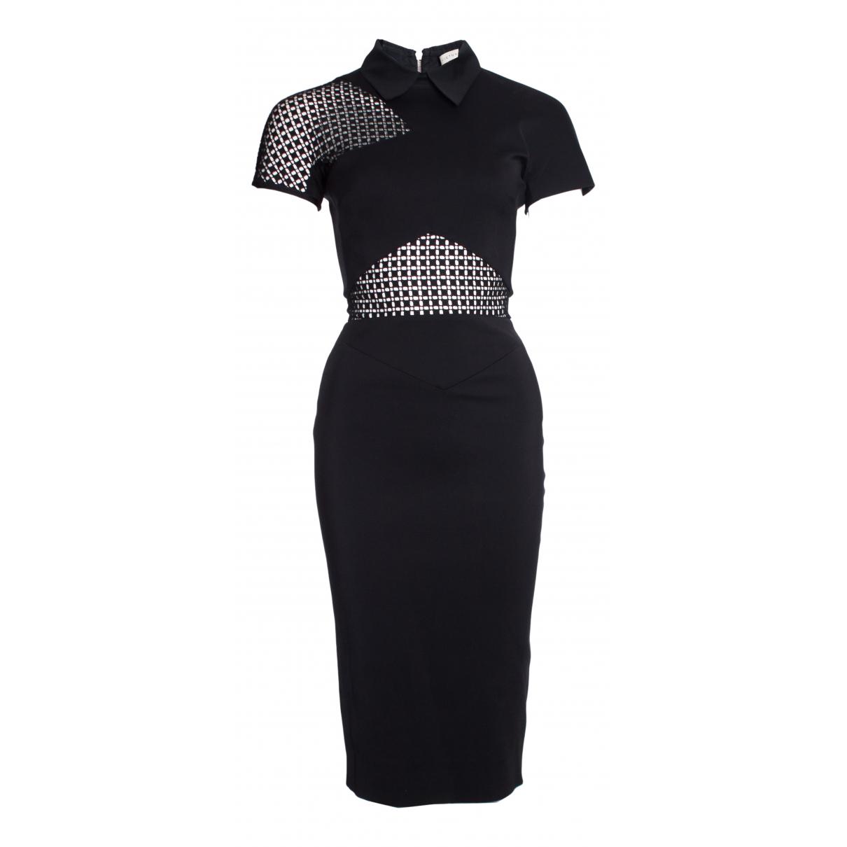Victoria Beckham - Robe   pour femme en coton - elasthane - noir