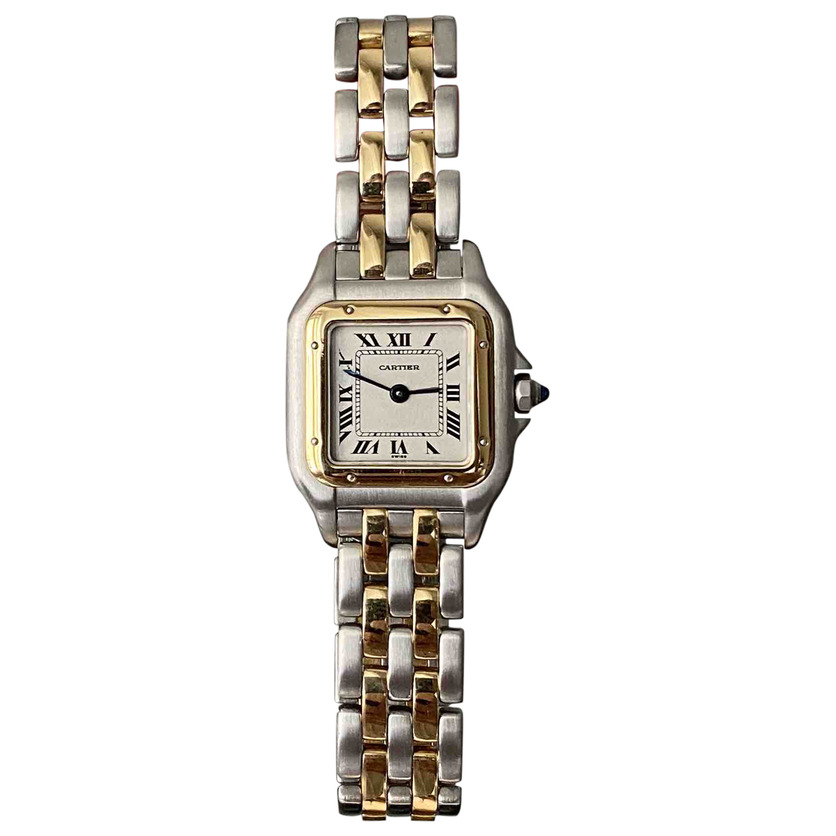 Cartier Panthère Gold gold and steel watch for Women \N