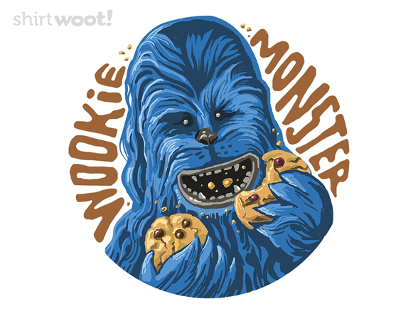 Wookie Monster T Shirt