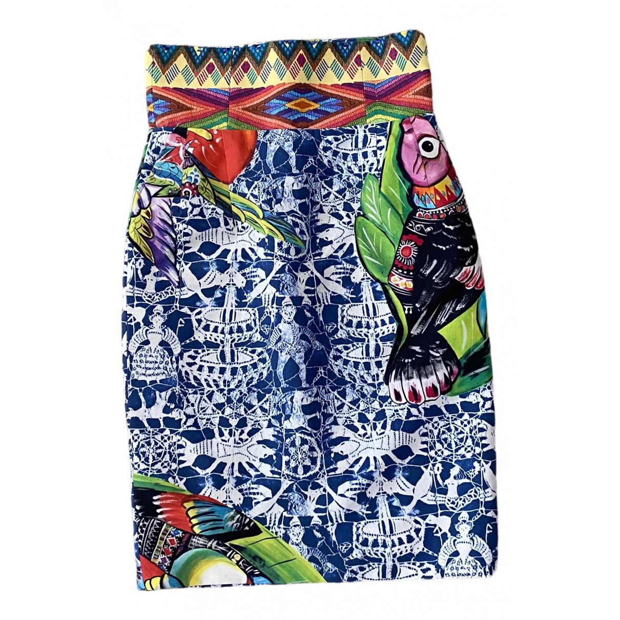 Stella Jean - Jupe   pour femme en coton - multicolore