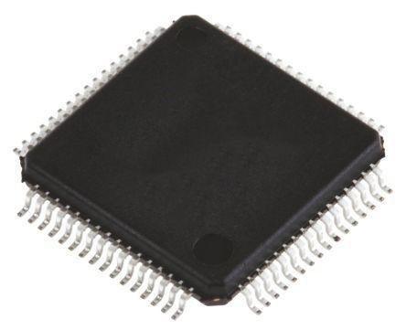 STMicroelectronics STM32F205RGT7, 32bit ARM Cortex M3 Microcontroller, STM32F, 120MHz, 1.024 MB Flash, 64-Pin LQFP