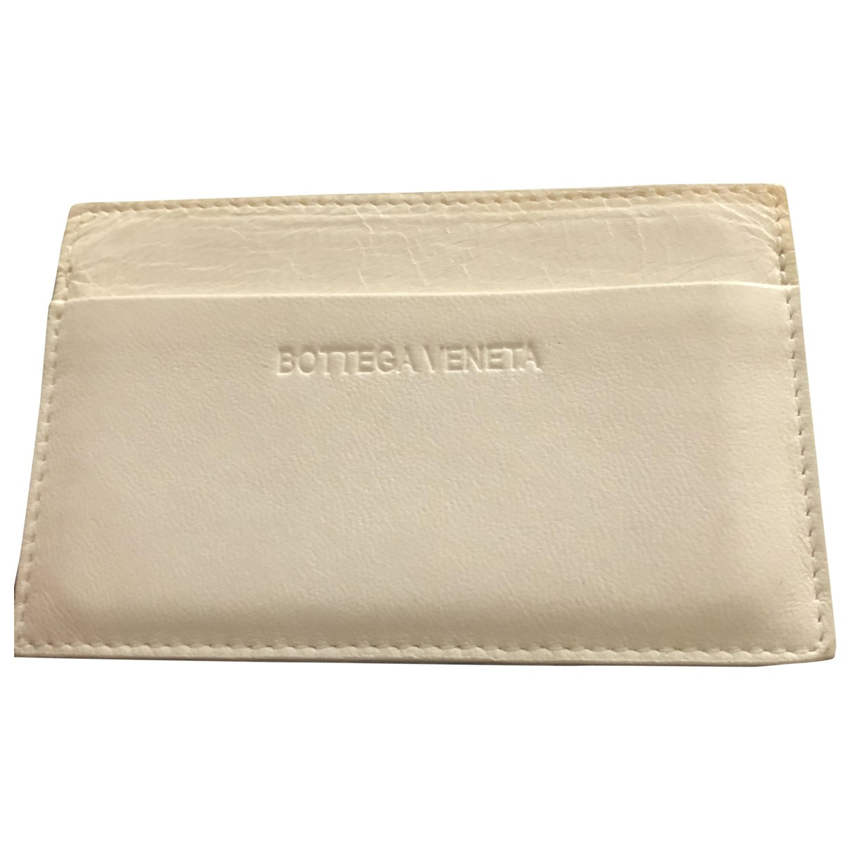 Bottega Veneta - Petite maroquinerie   pour femme en cuir - blanc