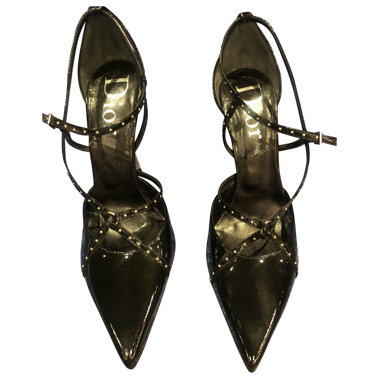 Dior \N Black Patent leather Heels for Women 41 EU