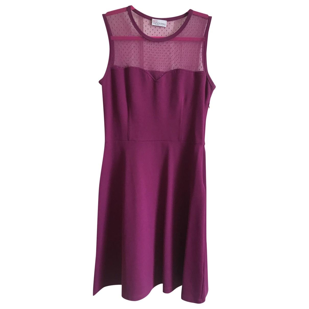 Red Valentino Garavani \N Kleid in  Rosa Synthetik
