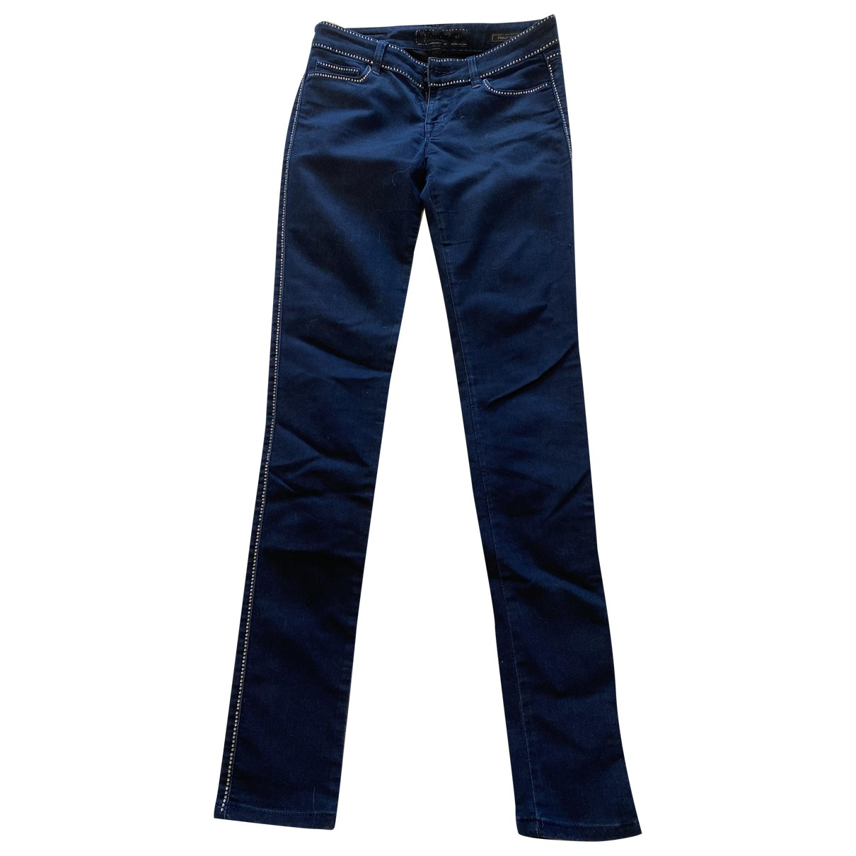 Guess \N Blue Cotton - elasthane Jeans for Women 36 FR