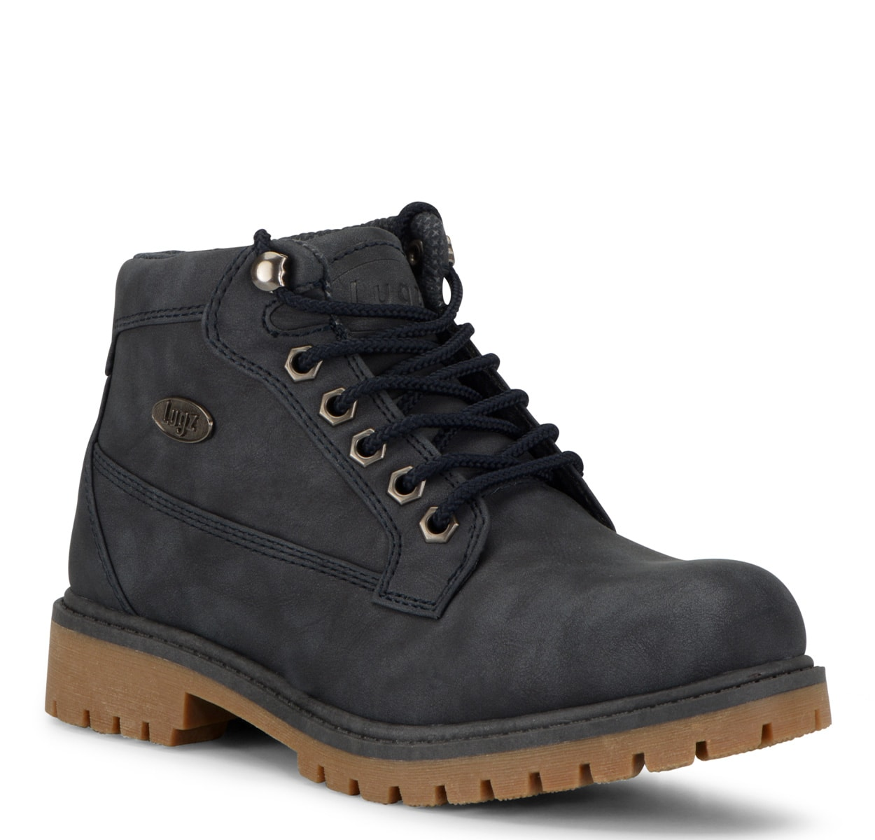 Women's Mantle Mid Chukka Boot (Choose Your Color: NAVY/GUM, Choose Your Size: 8.5)