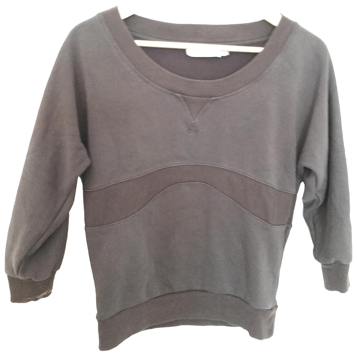 Stella Mccartney Pour Adidas - Top   pour femme en coton - anthracite
