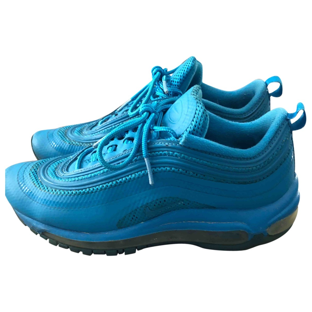 Nike Air Max 97 Turquoise Cloth Trainers for Women 38.5 EU