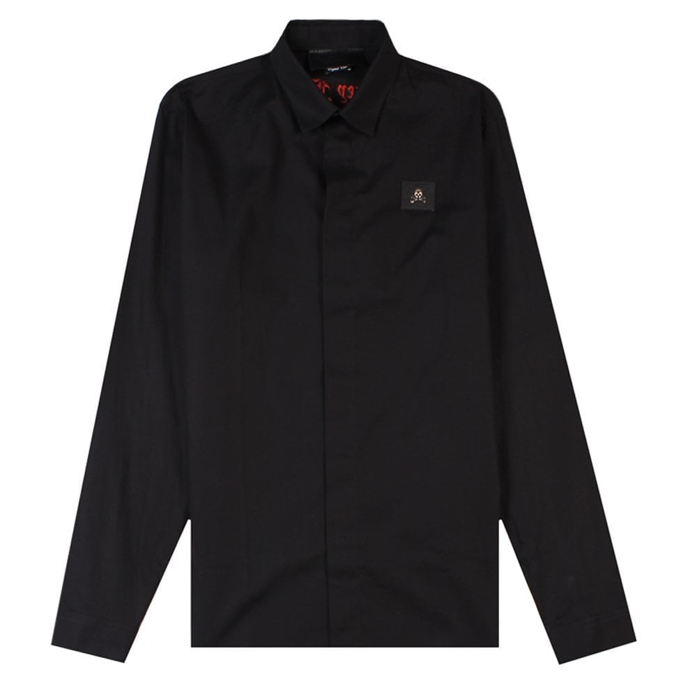 "Philipp Plein ""Elseid"" Shirt Colour: BLACK, Size: EXTRA LARGE"