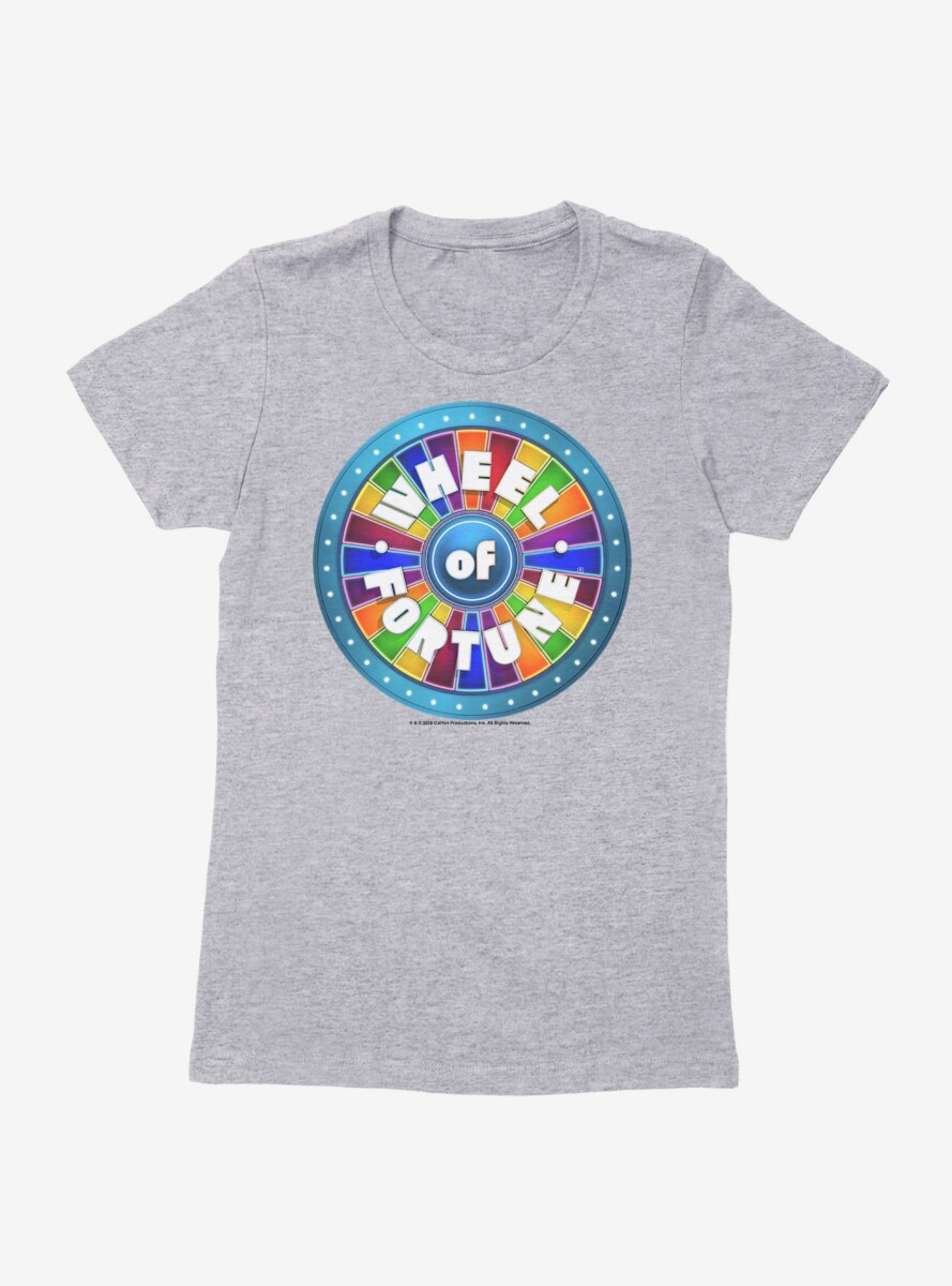 Wheel Of Fortune Classic Color Icon Womens T-Shirt