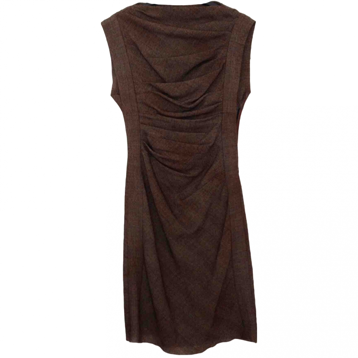 Bottega Veneta \N Brown Wool dress for Women 38 IT