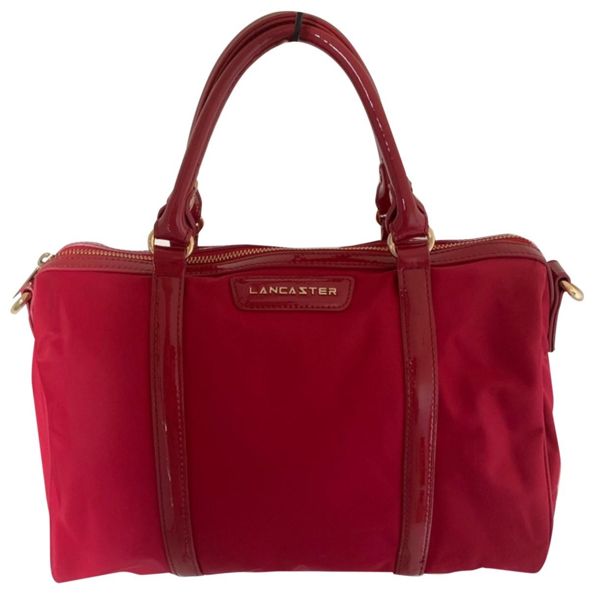 Lancaster - Sac a main   pour femme en cuir - rouge