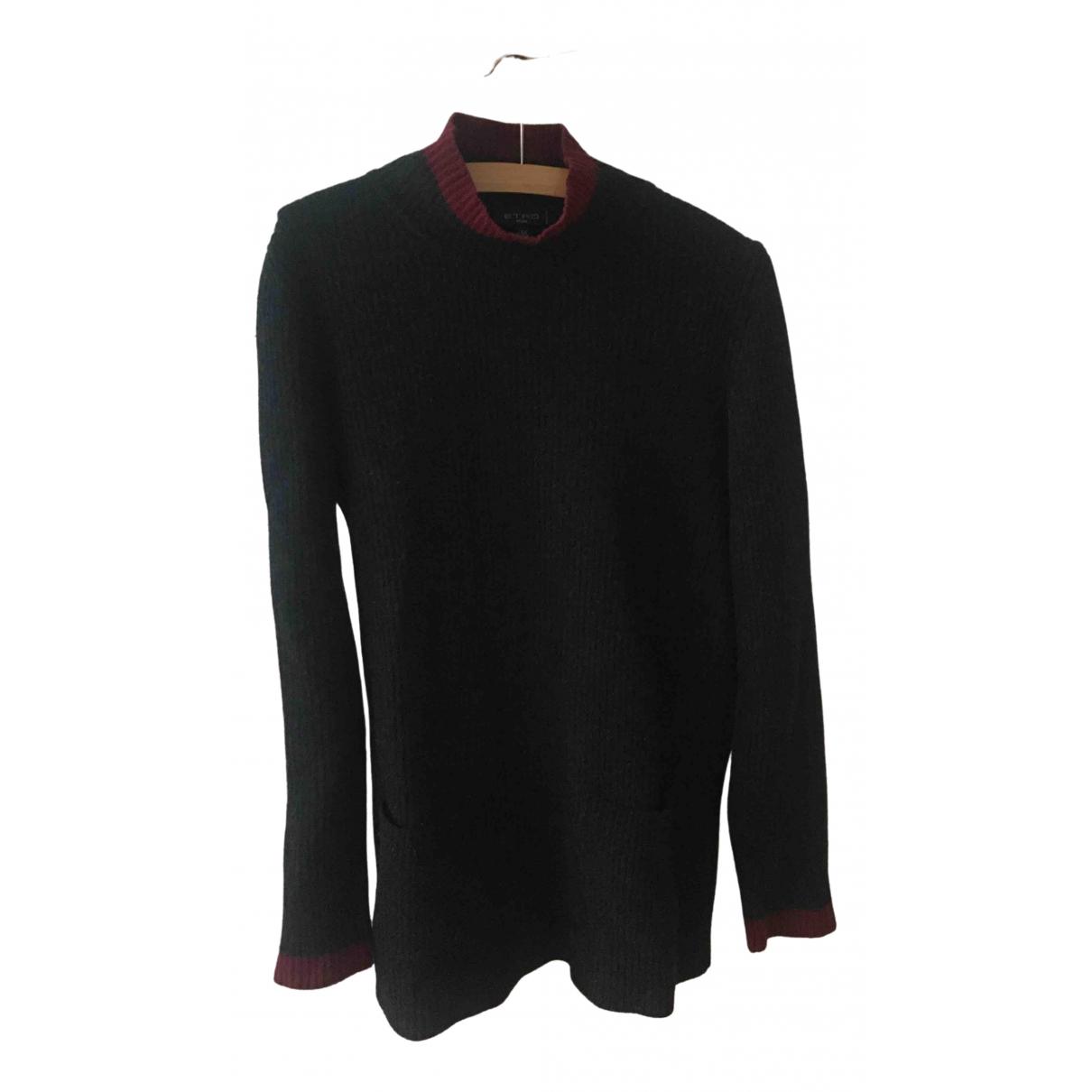 Etro \N Pullover in  Grau Wolle