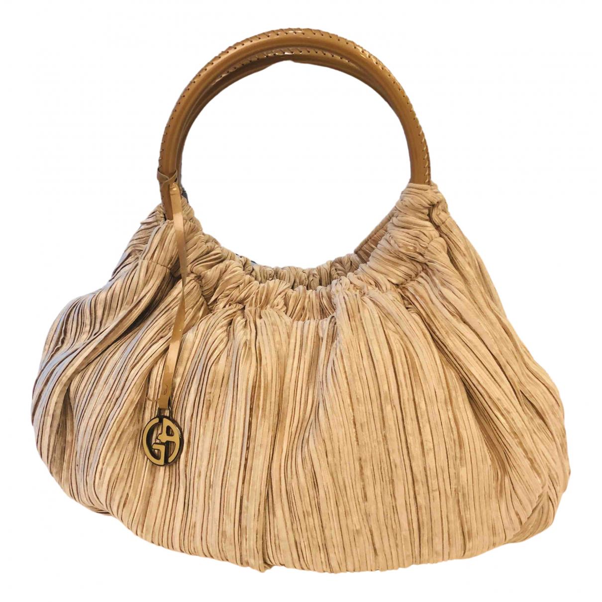 Giorgio Armani N Beige Cloth handbag for Women N
