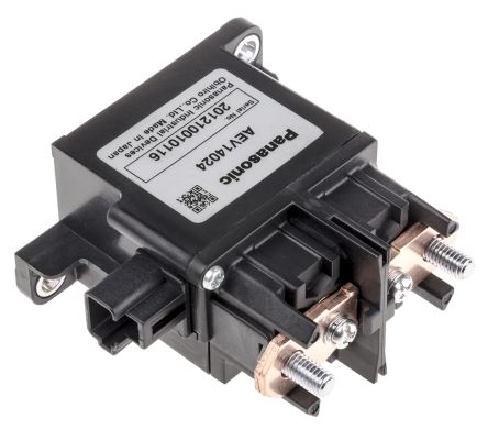 Panasonic , 24V dc Coil Automotive Relay SPNO, 120A Switching Current Flange Mount