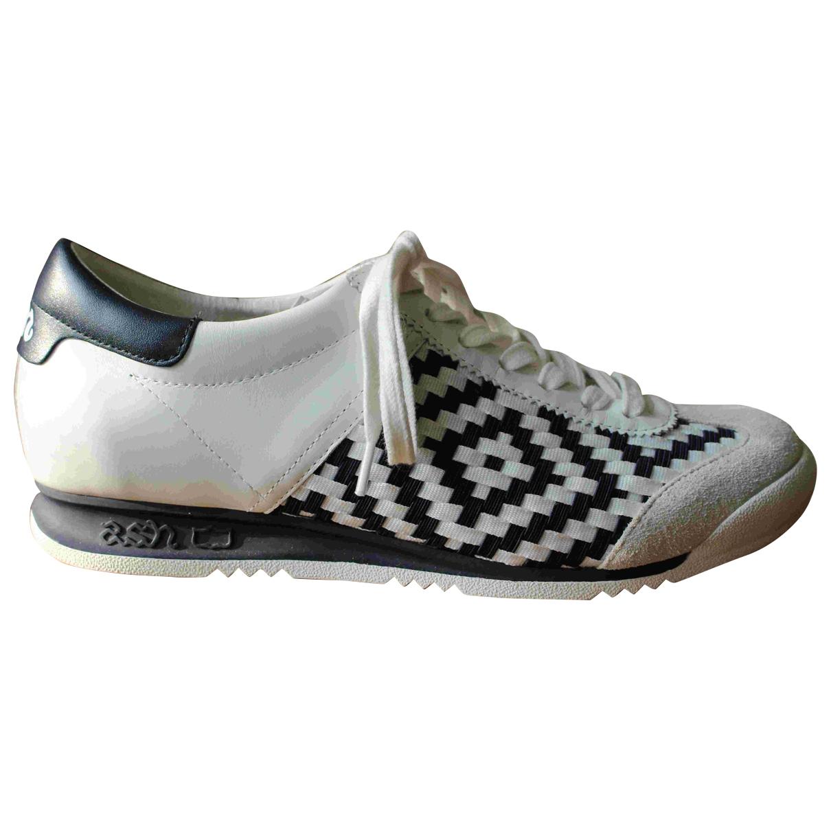 Ash \N Sneakers in  Blau Leinen