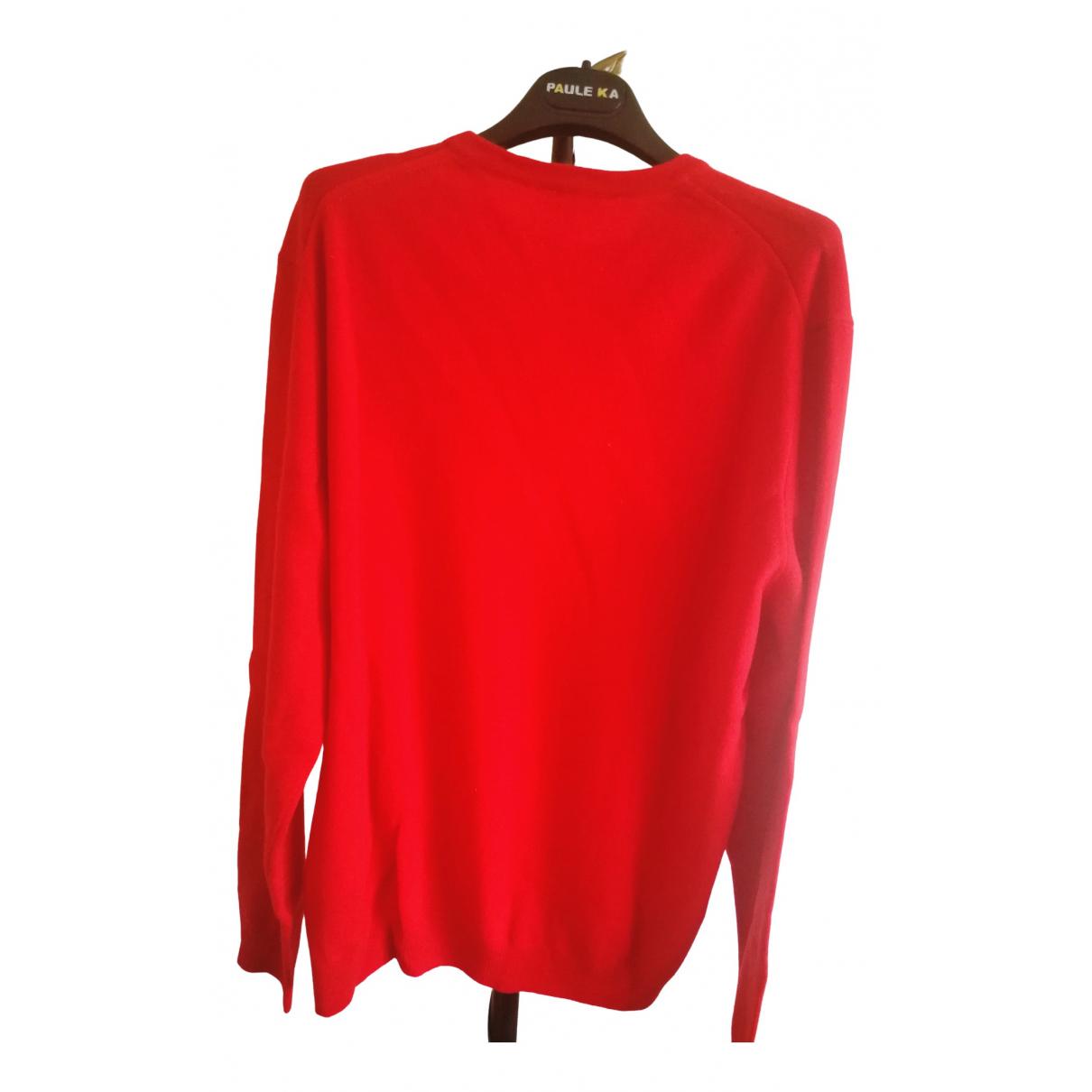 Lacoste \N Pullover.Westen.Sweatshirts  in  Rot Kaschmir