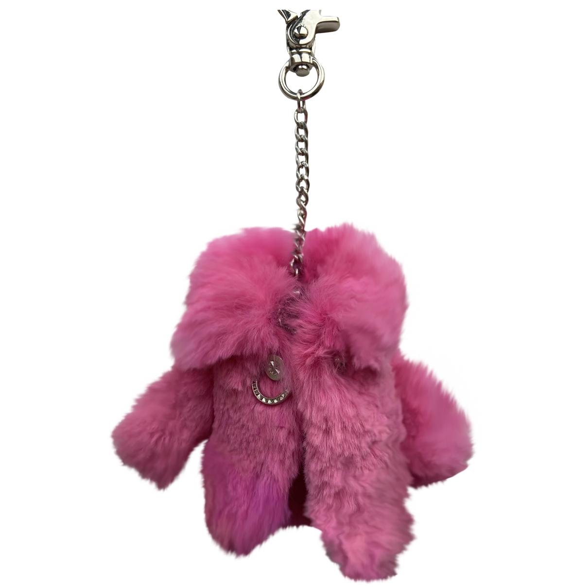 Helen Yarmak - Bijoux de sac   pour femme en vison - rose