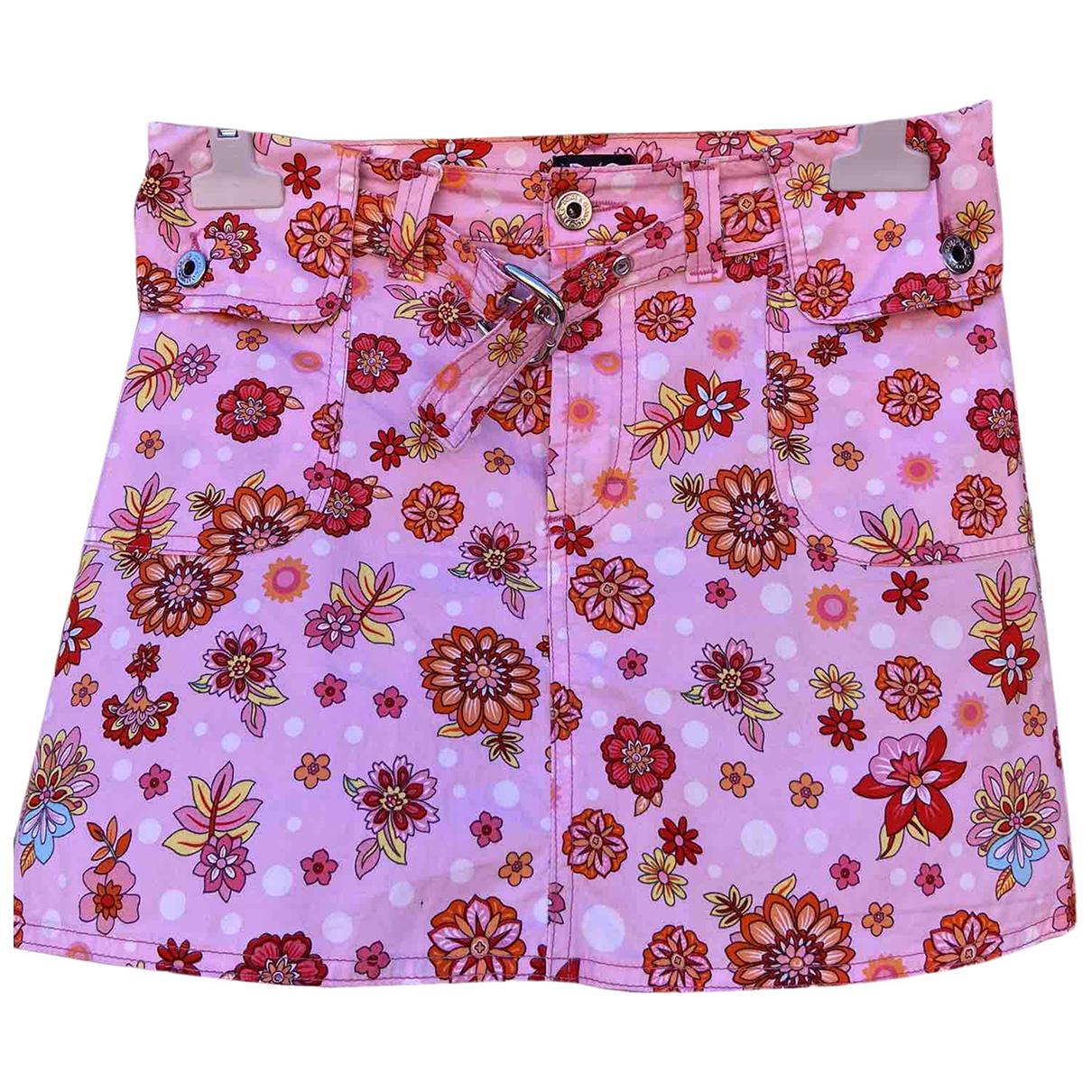 D&g \N Pink Cotton skirt for Women 38 IT
