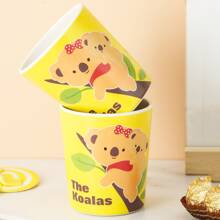 1pc Cartoon Koala Print Cup