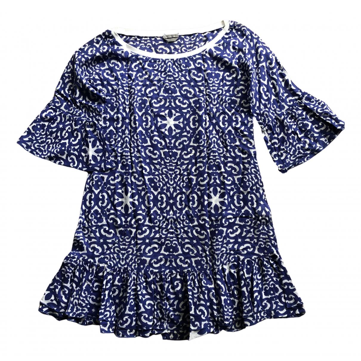 Sport Max N Blue Cotton dress for Women S International